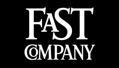 Fast Company Logo on Black Background